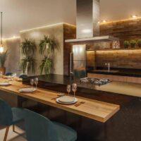 Forma Butantã - Área de lazer: Perspectiva espaço gourmet