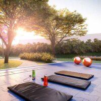 Forma Butantã - Área de lazer: Perspectiva fitness externo