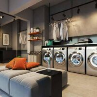 Forma Butantã - Perspectiva lavanderia