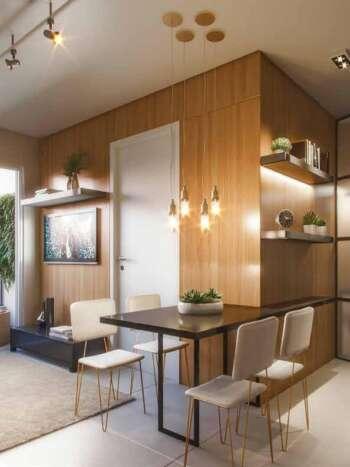 Forma Butantã - Perspectiva living 2 dormitórios terraço