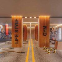 Forma Butantã - Área de lazer: Perspectiva sala fitness
