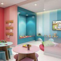 Galeria 635 - Área de lazer: Perspectiva brinquedoteca