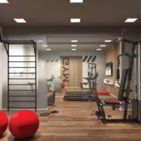 Galeria 635 - Área de lazer: Perspectiva fitness