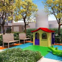 Galeria 635 - Área de lazer: Perspectiva playground