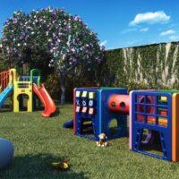 Memory Anália Franco - Área de lazer: Perspectiva playground