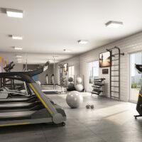 Parque Imperial Residencial Clube - Área de lazer: Perspectiva fitness
