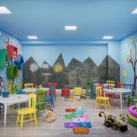 Parque Imperial Residencial Clube - Área de lazer: Perspectiva brinquedoteca