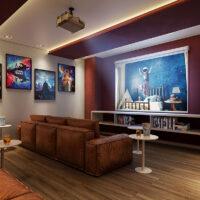 Parque Imperial Residencial Clube - Área de lazer: Perspectiva cinema