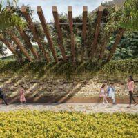 Parque Imperial Residencial Clube - Área de lazer: Perspectiva espaço paz