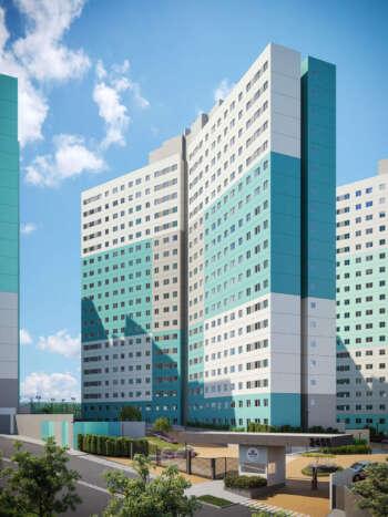 Parque Imperial Residencial Clube - Perspectiva fachada