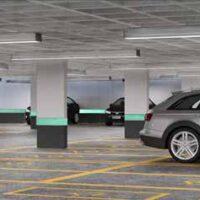 Parque Imperial Residencial Clube - Perspectiva garagem coberta