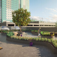 Parque Imperial Residencial Clube - Área de lazer: Perspectiva horta comunitária