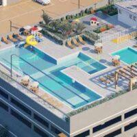 Parque Imperial Residencial Clube - Área de lazer: Perspectiva parque aquático