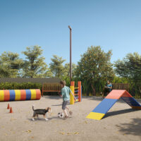 Parque Imperial Residencial Clube - Área de lazer: Perspectiva pet place