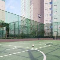 Parque Imperial Residencial Clube - Área de lazer: Perspectiva quadra