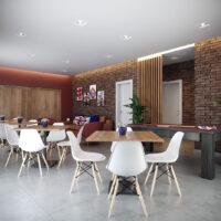 Parque Imperial Residencial Clube - Área de lazer: Perspectiva salão de festas