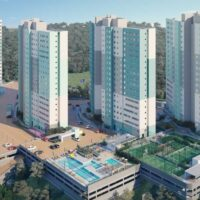 Parque Imperial Residencial Clube - Perspectiva torres