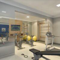 Plano Bairro Limão - Área de lazer: Perspectiva fitness