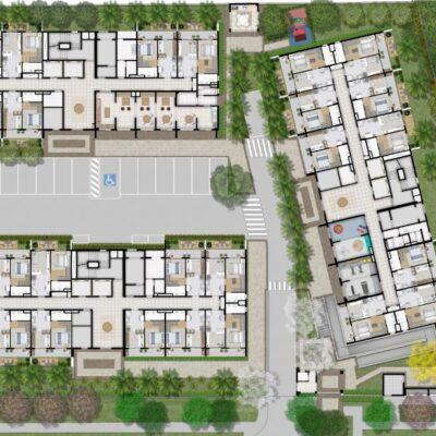 Plano Estação Vila Sônia - Implantação