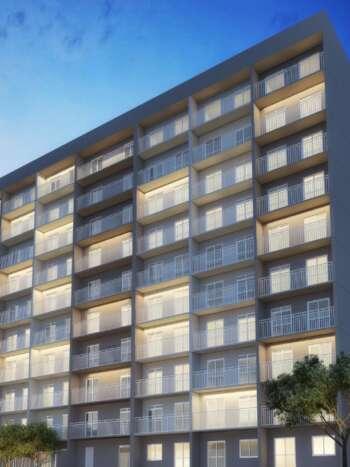 Plano Estação Vila Sônia - Perspectiva fachada