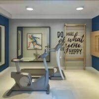 Plano Jacú Pêssego - Área de lazer: Perspectiva fitness