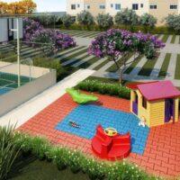 Plano José Bonifácio - Área de lazer: Perspectiva playground