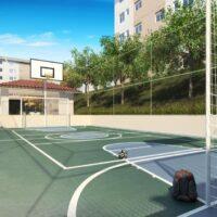 Plano José Bonifácio - Área de lazer: Perspectiva quadra recreativa