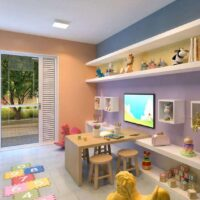 Plano Penha - Área de lazer: Perspectiva brinquedoteca