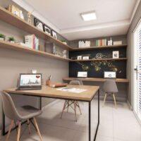 Plano Penha - Área de lazer: Perspectiva sala de estudos
