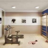 Plano Pirituba - Área de lazer: Perspectiva fitness