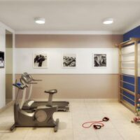 Plano Raposo - Área de lazer: Perspectiva fitness