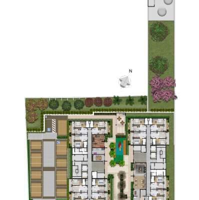 Plano Reserva Casa Verde - Implantação