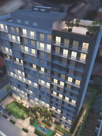 Plano Reserva Casa Verde - Perspectiva detalhe fachada