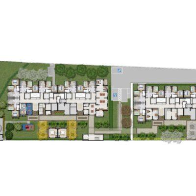 Plano Vila Carmosina - Implantação térreo