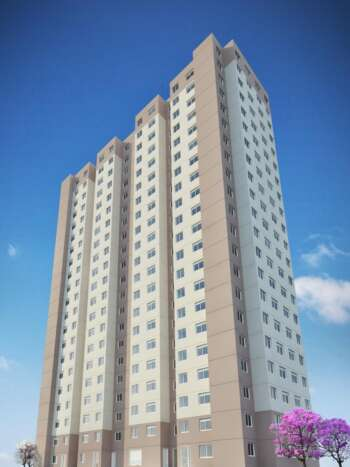 Plano Vila Carmosina - Perspectiva fachada