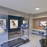 Plano Vila Carmosina - Área de lazer: Perspectiva fitness