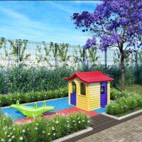 Plano Vila Carmosina - Área de lazer: Perspectiva playground