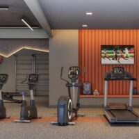 Reserva Mundi - Área de lazer: Perspectiva fitness