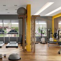 Reserva Raposo - Área de lazer: Perspectiva fitness