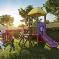 Reserva Raposo - Área de lazer: Perspectiva playground
