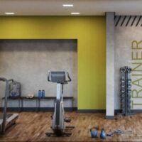 Tom Penha - Área de lazer: Perspectiva fitness