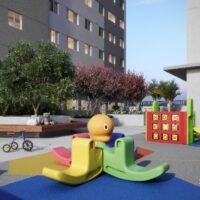 Tom Penha - Área de lazer: Perspectiva playground