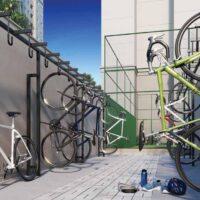 Casa Fit Brás - Perspectiva bicicletário