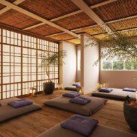 Casa Fit Brás - Área de lazer: Perspectiva espaço zen