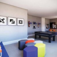Casa Fit Brás - Área de lazer: Perspectiva espaço teen