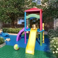 Vista Parque - Área de lazer: Perspectiva playground