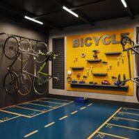Art Nações Unidas - Bicicletário com Oficina
