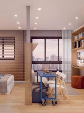 Bueno Ipiranga - Perspectiva 25m² - 1 dormitório