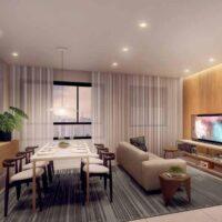 Bueno Ipiranga - Perspectiva 36m² - 1 dormitórios com Living Ampliado