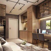 Viva Benx Estilo Vila Mariana - Perspectiva 24m² - 1 dormitório